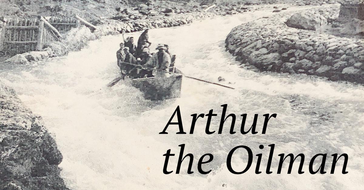 Hozu River, Kyoto and Arthur the Oilman
